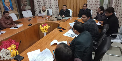Meeting Organized For Making Medical Fair Success Uttar Pradesh