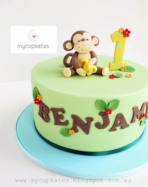 Cheeky Monkey Birthday Cake Tesco