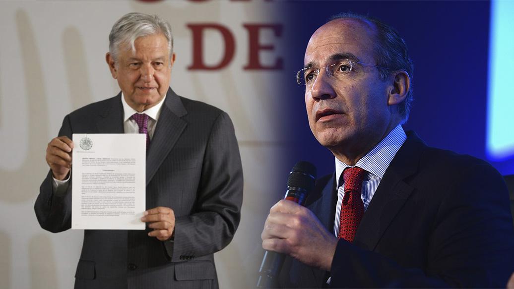 El Narco intento atentar contra mí y mi familia, dice Calderón a AMLO en una carta para que le restituya seguridad