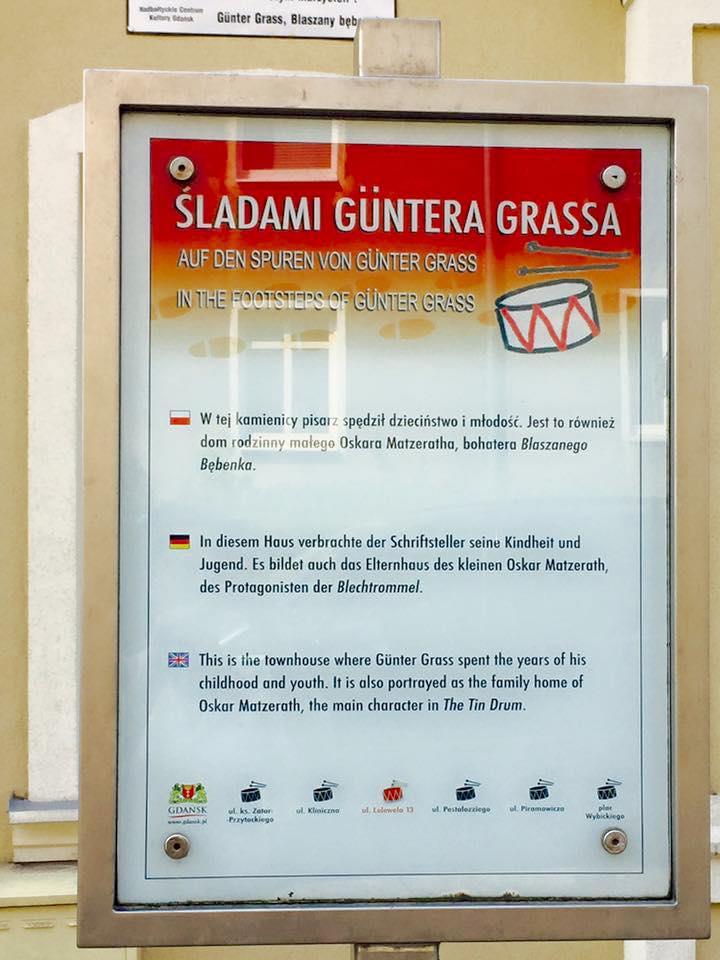 Gdańsk Wrzeszcz Gunter Grass dom