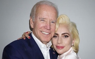 'I am a survivor!' Lady Gaga joins 'great friend' former Vice President Joe Biden to support victims of sexual assault... and reveals her own experiences made her 'feel unsafe in her own body'