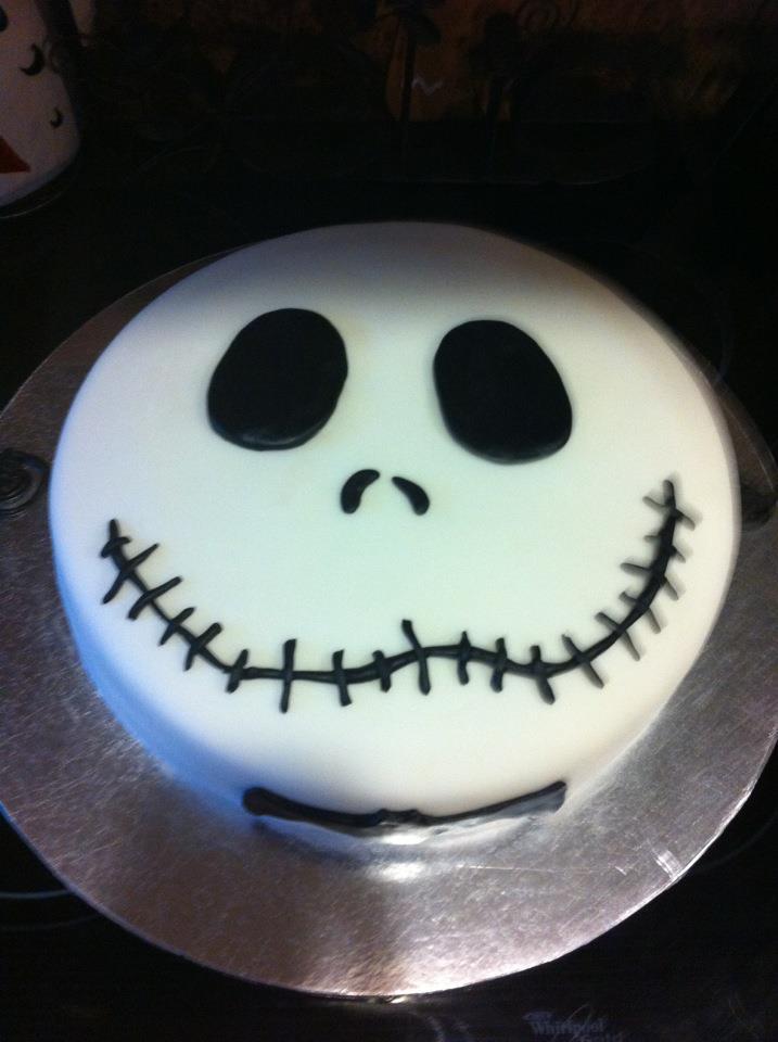 Nightmare Before Christmas Birthday Cake Designs