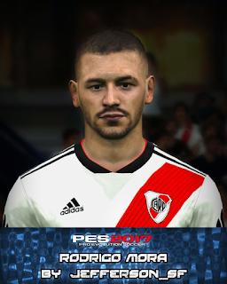 PES 2017 Faces Rodrigo Mora by FaceEditor Jefferson_SF