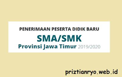 Jadwal Pelaksanaan PPDB Jatim 2019
