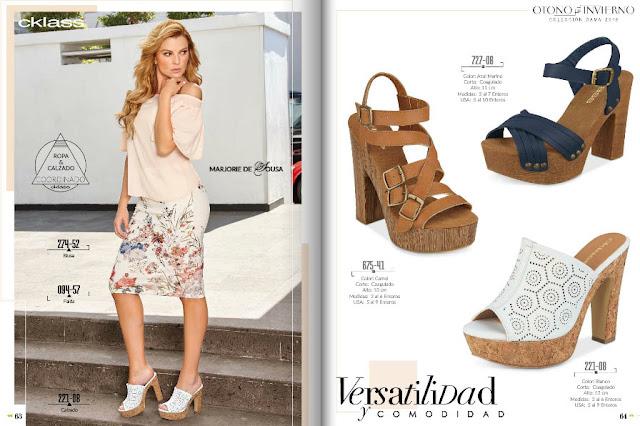 Cklass catalogo de zapatos colección damas PV 2018 | moda