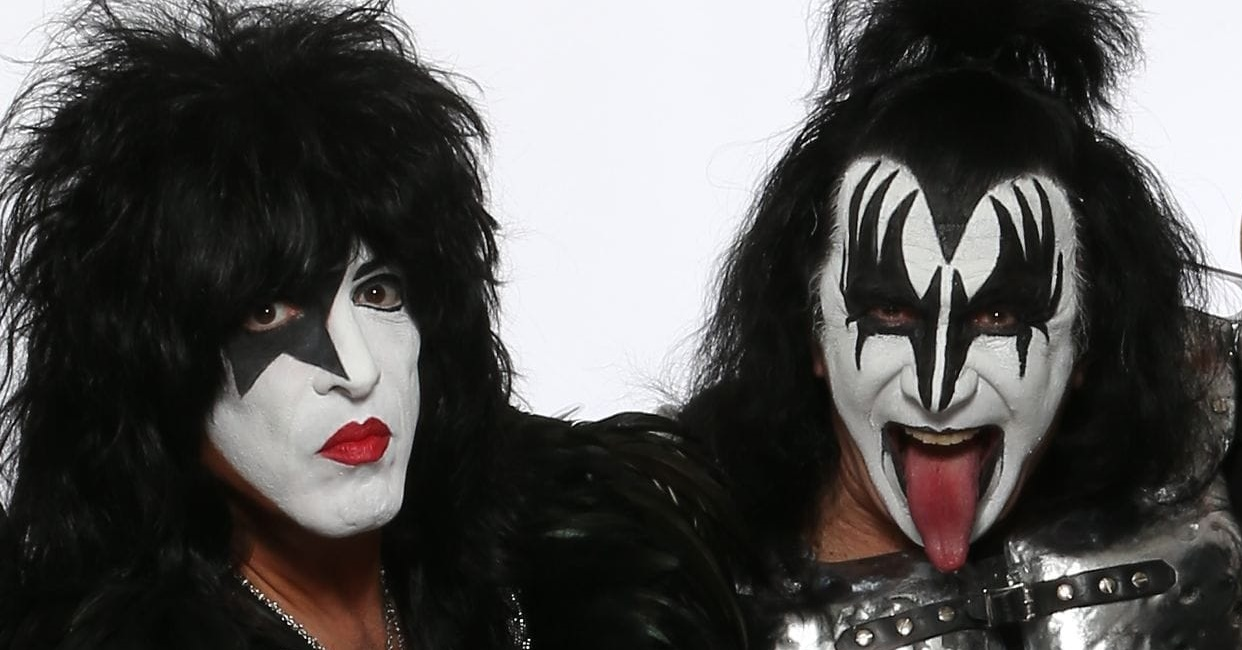 is gene simmons gay