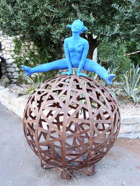 Saint Paul de Vence, escultura en las calles