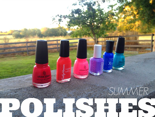 (MID)Summer Polishes