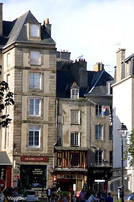 Edifici caratteristici della cittadina intramuros di Saint Malo