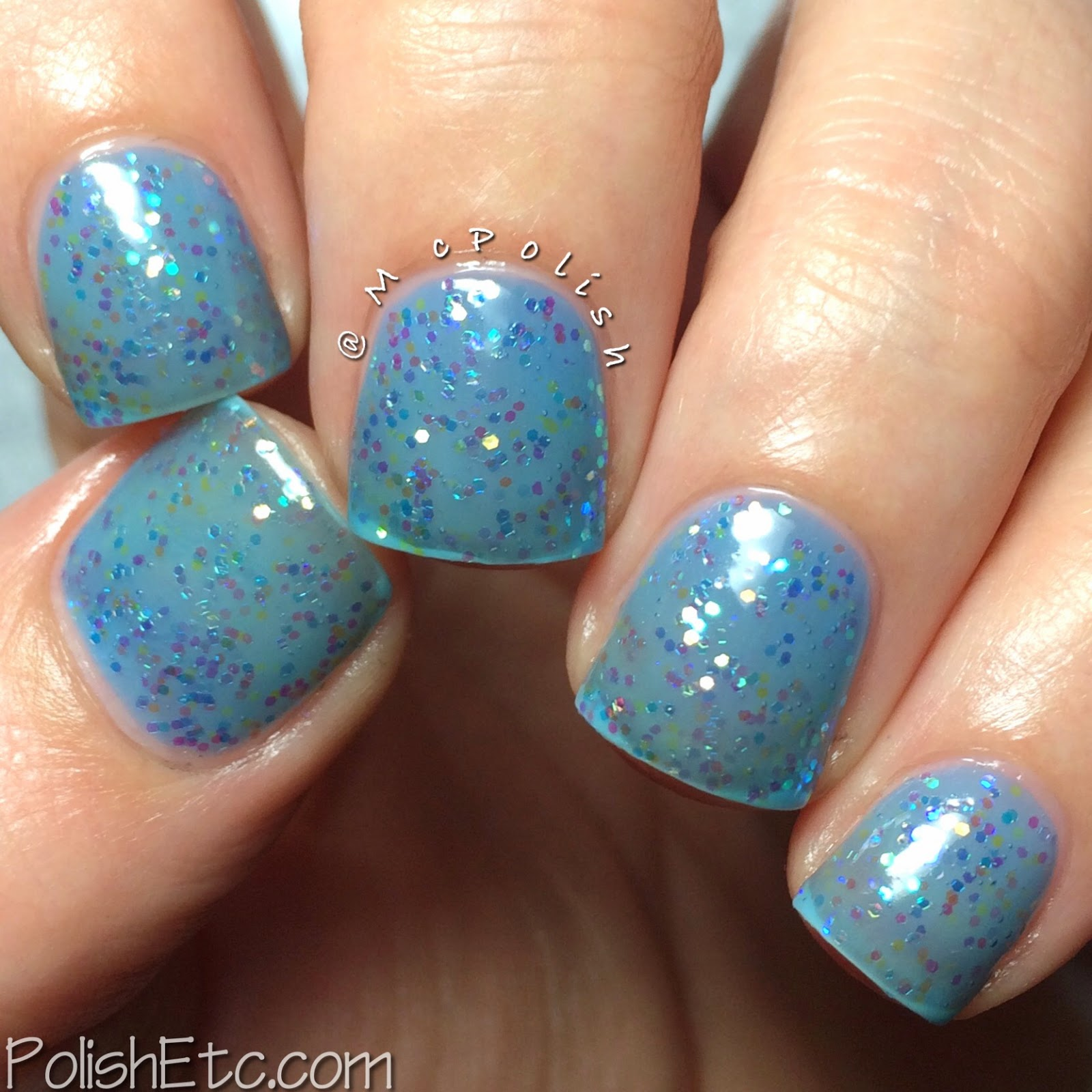 Pure Ice - New Year New Hue Jellies - Blue Hue - McPolish