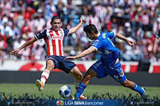 Puebla vs Guadalajara