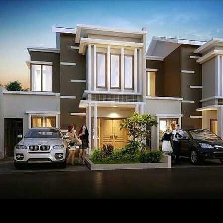 contoh desain rumah dengan gaya classic yang indah - rumah
