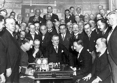 Partida de ajedrez Golmayo – Alfonso XIII en 1921