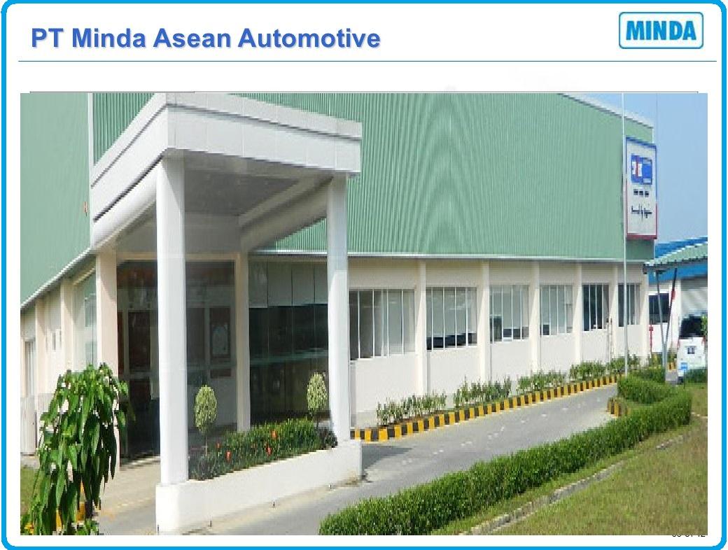 Loker Terbaru Untuk SMK di PT Minda Asean Automotive KIIC Karawang