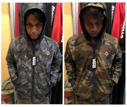 Jaket Army Bolak Balik Sepatugram