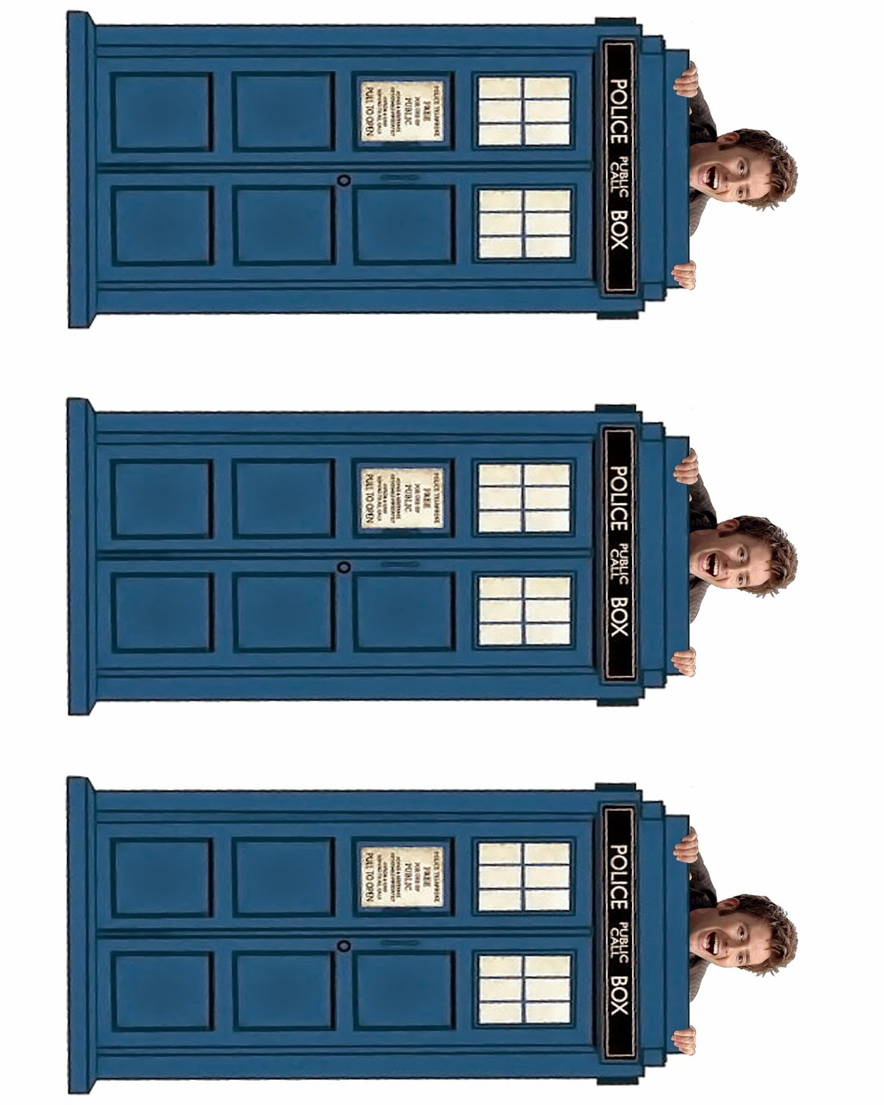 image relating to Tardis Printable identified as David Tennant Peeking Season Lord Bookmark--10th Working day of Health care provider
