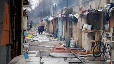 barrio de pobreza
