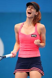 Tsvetana celebrates her victory