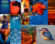 Colour My World ~ Blue and Orange