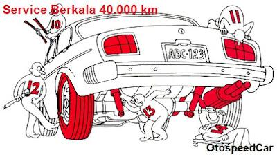 Service Berkala Mobil 40.000 Km