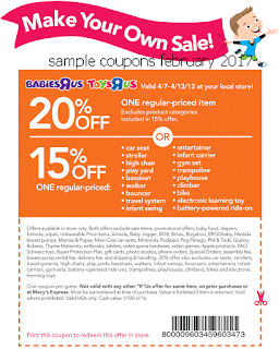 free Toys R Us coupons february 2017