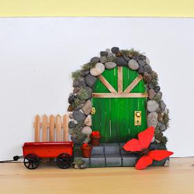 craft stick fairy doors