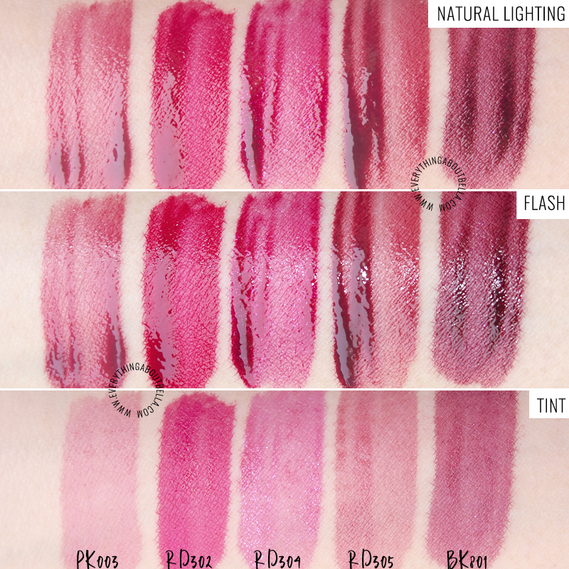 Etude House New Dear Darling Water Gel Tint Review Swatches