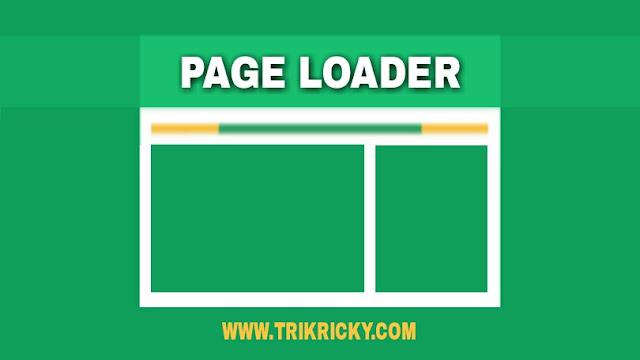 Membuat Page Loader Sederhana Ala Arlina Design