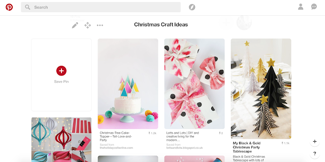 Pinterest if the perfect place to find your handmade Christmas gift ideas and also homemade Christmas decorations. Check out my Christmas craft idea board for lots of inspiration.