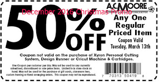 free AC Moore coupons for december 2016