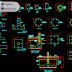 مخطط تفاصيل التسيليح المعترف عليها اوتوكاد dwg