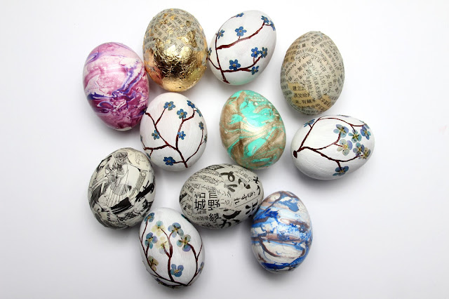 DIY // Ideas for decorative Easter Eggs