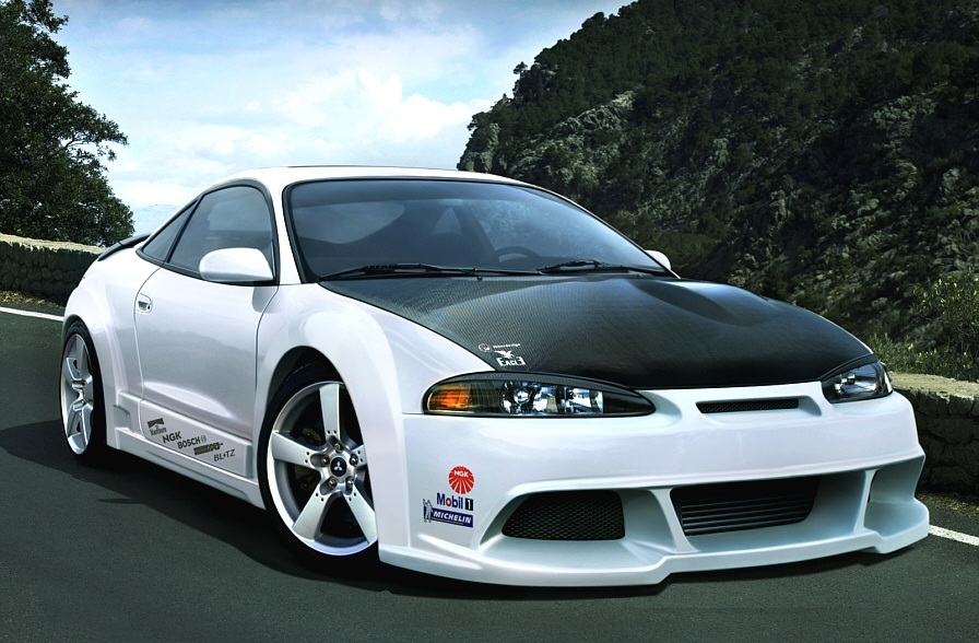 Mitsubishi Eclipse Sporty Car Mitsubishi Views Car