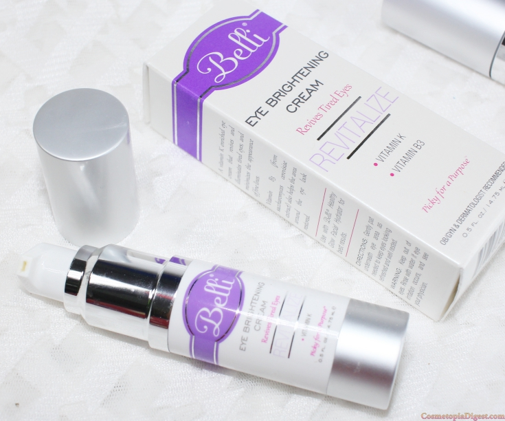 Review and moisture content analysis of Belli Skincare Facial Wash, Eye Cream and Healthy Glow Hydrator.