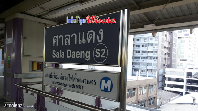 BTS Sala Daeng Bangkok