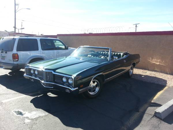 1972 Galaxie Convertible For Sale