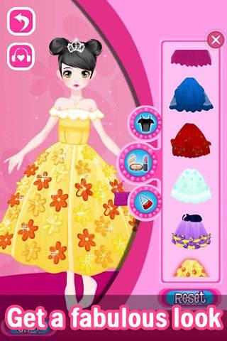 لعبة فتاة الاحلام Dress Up Dream Girl
