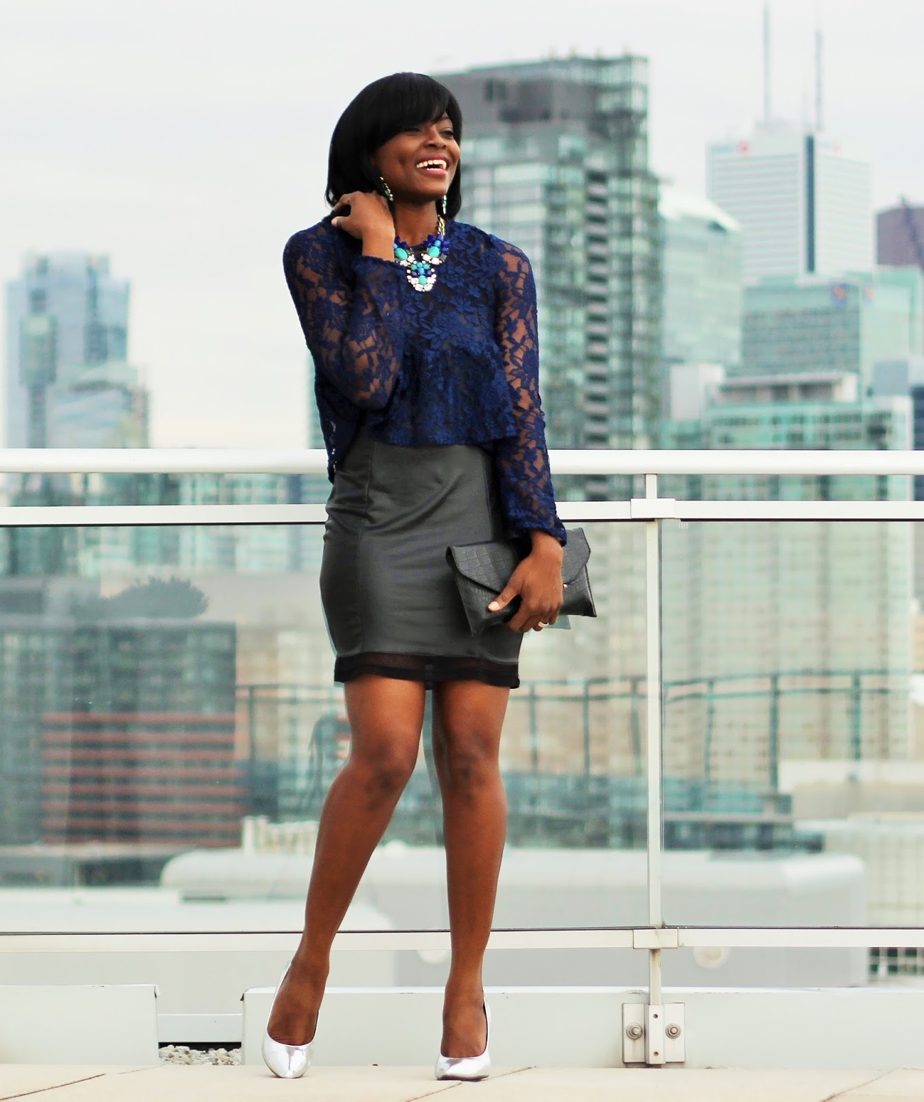 STYLING A SYMONE KELLY STATEMENT NECKLACE