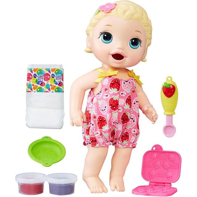 Lojas Americanas Boneca Baby Alive Lanchinho Loira