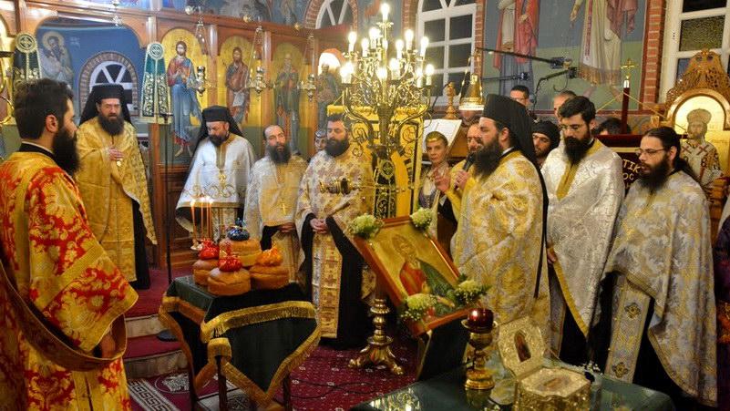 Εορτασμός Ιερού Ναού Αγίου Ανδρέα στα Εργατικά Νέας Χηλής Αλεξανδρούπολης