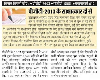 UPSESSB interview date 2016 for 2011, 2013 and 2016