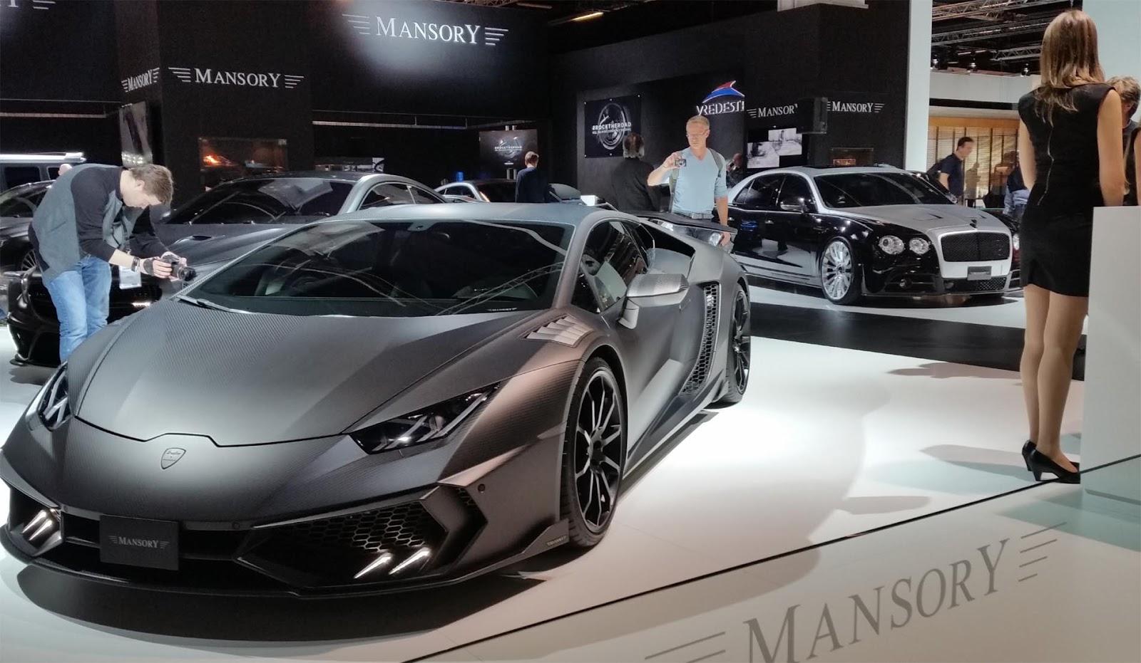 Mansory Lamborghini TOROFEO Carbon Fibre Style