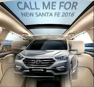 Wow ...!! Hyundai Santa Fe 2016 Telah hadir