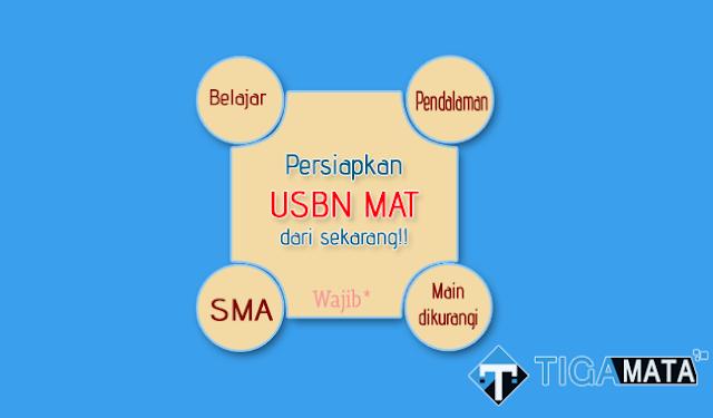 Prediksi Soal USBN Matematika Wajib SMA 2019