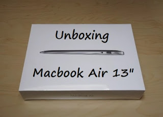 unboxing macbook air de 13 pulgadas