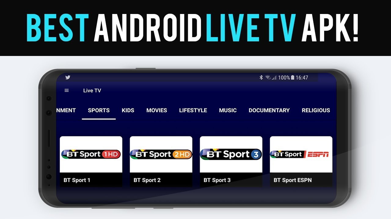 IPTV Android Apk Watch World Premium Cable Live Channel or TV Shows