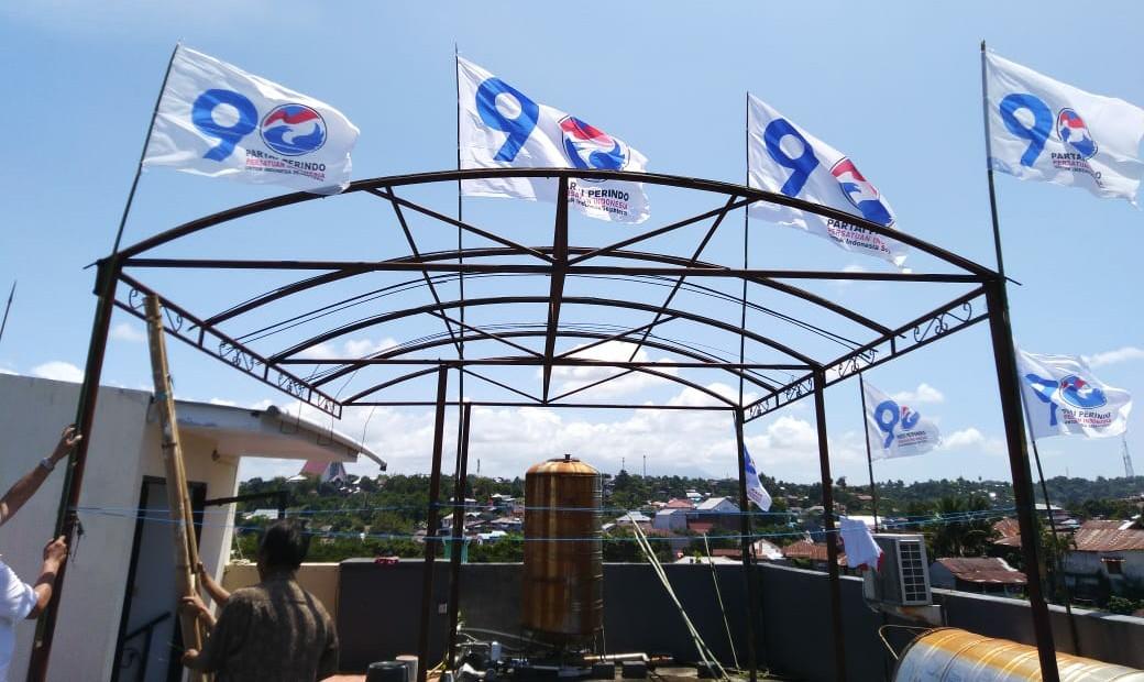 Ketum DPP Instruksikan Seluruh Kader Serentak Pasang Bendera dan Panji Perindo