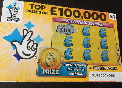 £1 Yellow Scratch Card