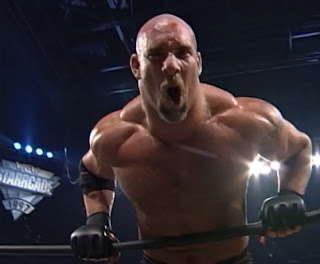 WCW Starrcade 1997 review - Bill Goldberg beat Steve 'Mongo' McMichael