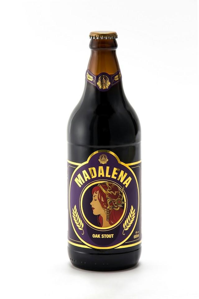 Cerveja Madalena lança edição limitada da Oak Stout